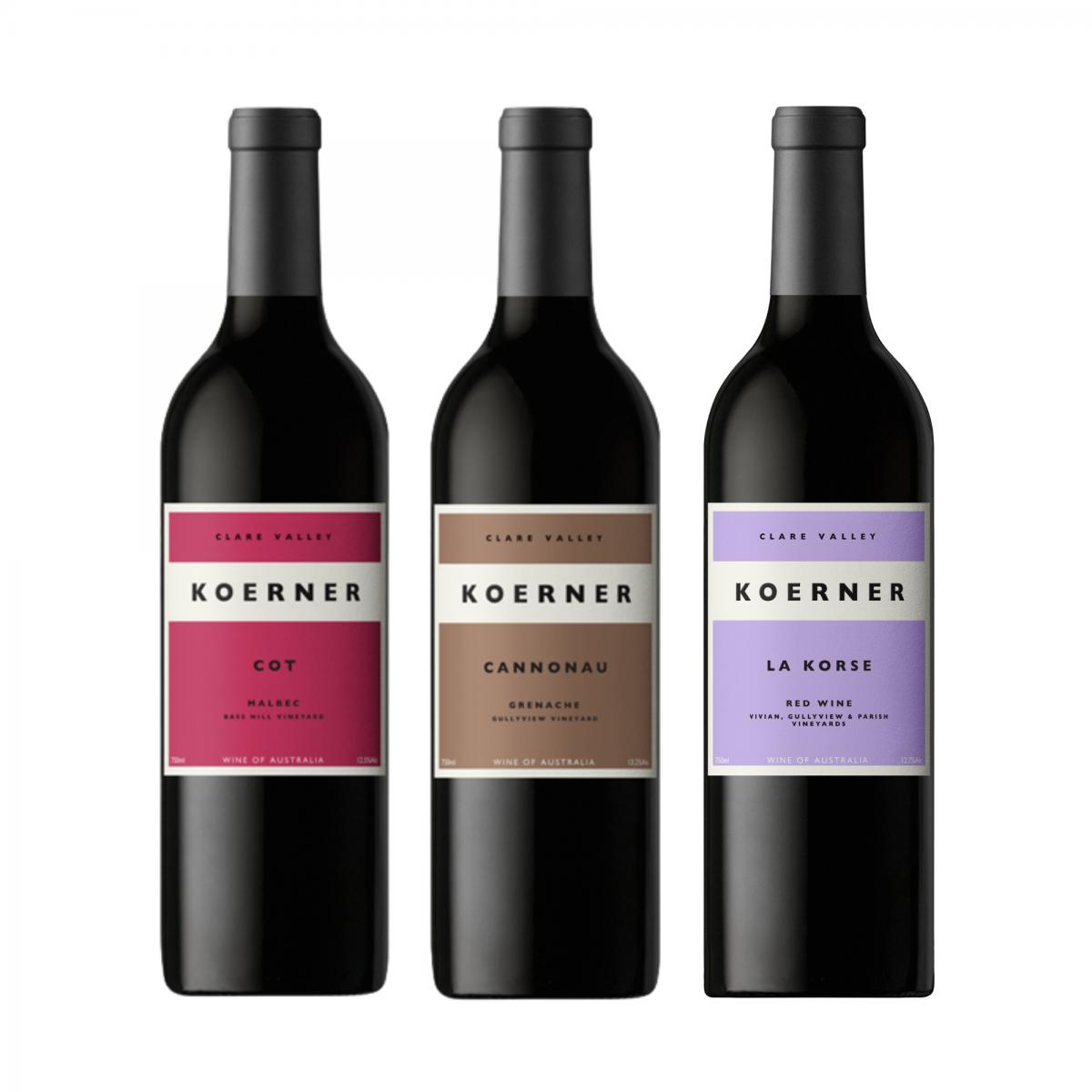 2020 Koerner Premium Red Trio